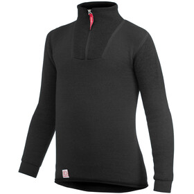 Woolpower 200 Zip Turtleneck Kids pirate black